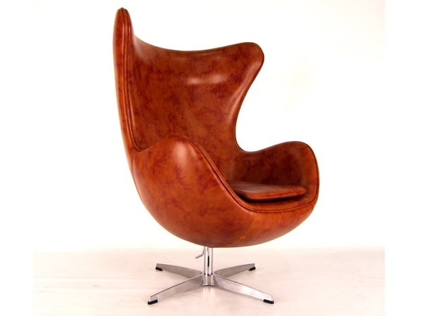 Egg Sessel Arne Jacobsen - Braun