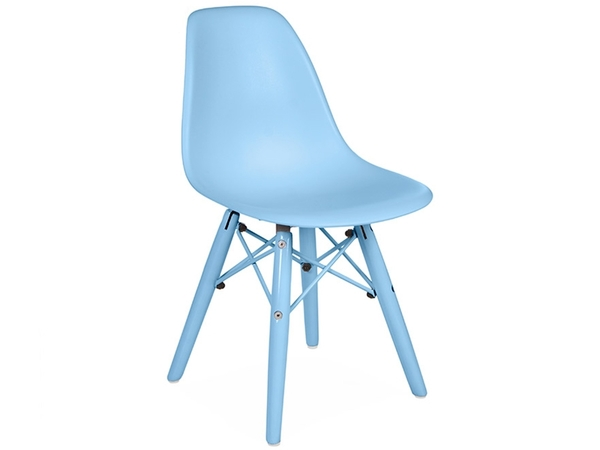 Kinder Stuhl DSW Color - Blau