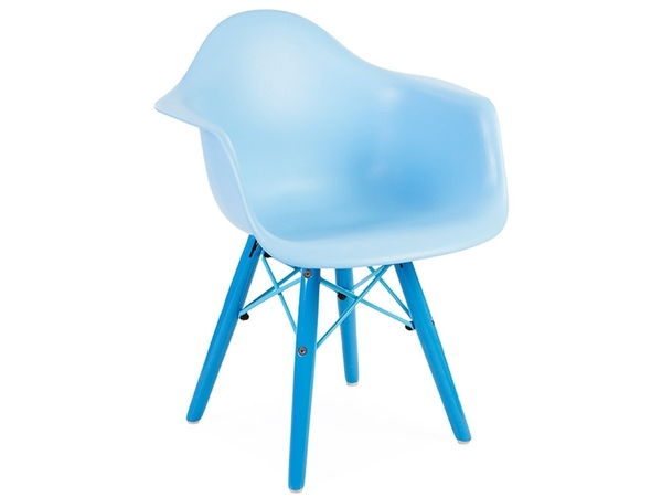 Kinder Stuhl Eames DAW Color - Blau